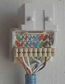 T568b Jack Wiring Diagram likewise Rj45 568b Wiring Diagram likewise Ether  Cat 5 Wiring Diagram as well Rj45 Wall Jack moreover Upgrading Phone Socket To Rj11. on t568b wiring diagram